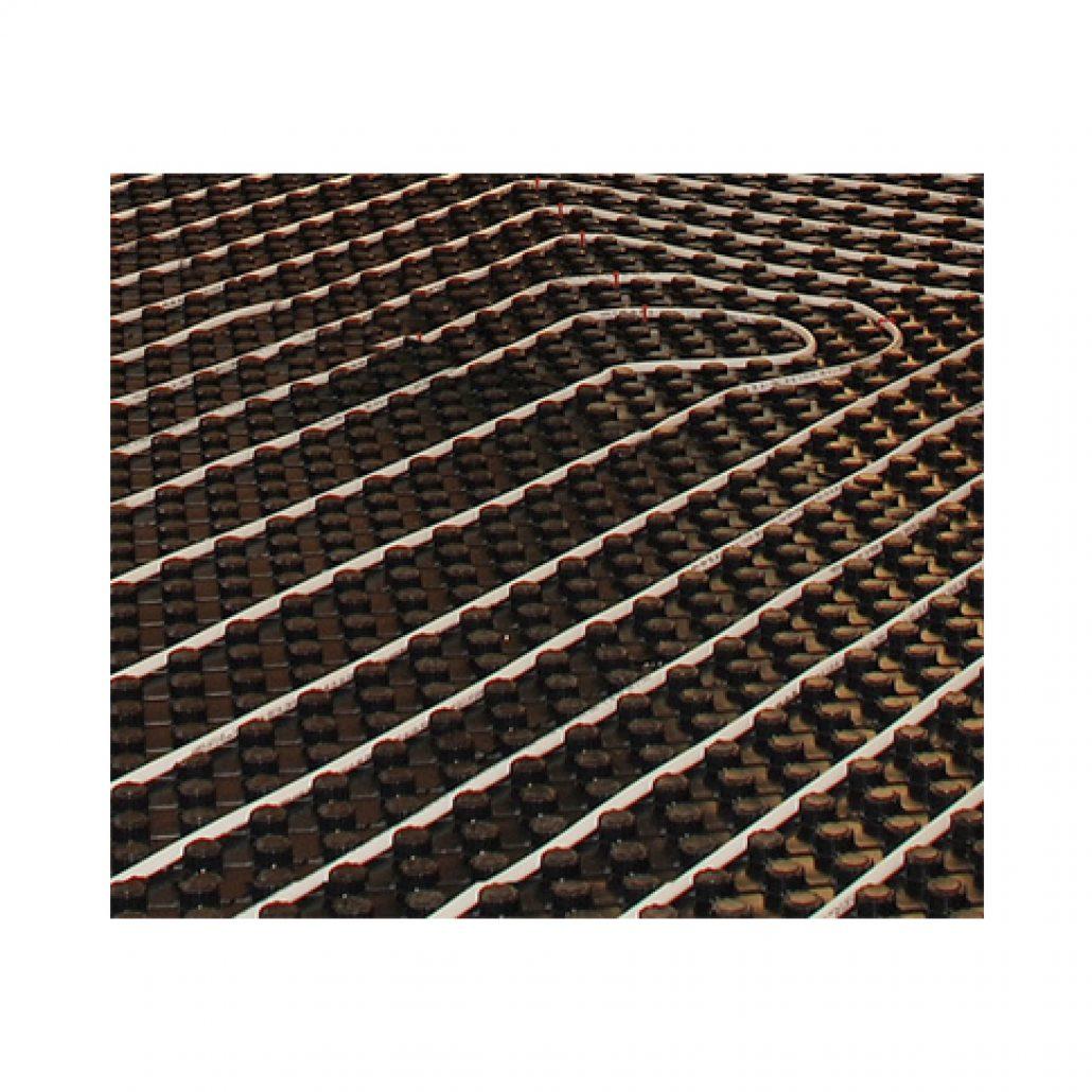 Underfloor heating pipe positioning board