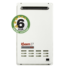 Rheem gas continuous flow water heater