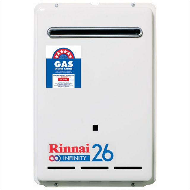 Rinnai infinity continuous flow